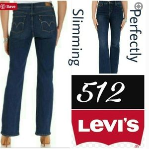 Levi's 512 Perfectly Slimming Bootcut Jeans 10M